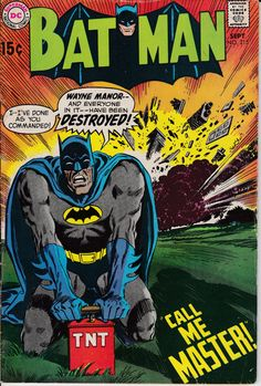 Batman 215 September 1969 Issue DC Comics Grade by ViewObscura