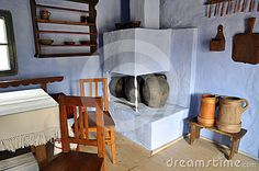 Traditional Romanian House Interior, Transylvania Ignore the watermark; this is a great kitchen.