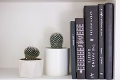 Erica Cook Home Office Shelf Styling