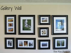 Gallery Wall Template create a gallery wall of pictures | photobookstory newsletter
