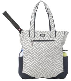 Check out what Nicole's Tennis Boutique has to offer for on and off the court! Ame & Lulu Ladies Tennis Tote Bags - Taj #NicolesTennisBoutique