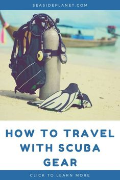 If you\'ve been wondering how to travel with scuba gear, then you won\'t want to miss our all new guide. It\'s filled with insights, tips, tricks, and more! Cozumel Scuba Diving, Scuba Diving Mask, Best Scuba Diving, Cave Diving, Snorkeling, Scuba Travel, Scuba Diving Certification, Scuba Diving Equipment, Scuba Gear