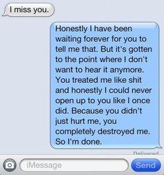 Message from a broken heart