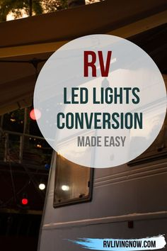 If you're planning on converting your RV flourescent lights to LED lights, here is an article that can help you. RV LED lights conversion can be made easy.