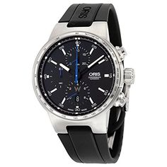 Men's Wrist Watches - Oris Williams Chronograph Automatic Black Dial Black Rubber Mens Watch 01 774 7717 415407 4 24 50 -- You can get more details by clicking on the image. Metal Watch Bands, Best Deals On Laptops, Evil Eye Jewelry, Automatic Watches For Men, Breitling Watches, Telling Time, Black Rubber, Chronograph, Wrist Watches