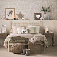Vintage glam bedroom   Vintage bedroom ideas   Bedroom   PHOTO GALLERY   Ideal Home   Housetohome.co.uk #BedroomDecoratingIdeas