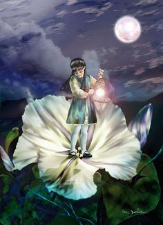Fairy Paintings by Miharu Yokota