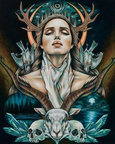 Specializing in affordable and accessible fine art from an international roster of contemporary artists with an emphasis on popular culture and illustration. Dark Fantasy Art, Spoke Art, Desenho Tattoo, Mystique, Art Et Illustration, Psychedelic Art, Surreal Art, Oeuvre D'art, Art Inspo