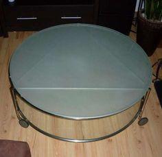 Stół kawowy, okrągły, szklany, 40X100 Gdynia - image 1