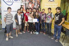 Bienvenidos a la UNAB, alumnos de la Facultad de Ciencias Exactas