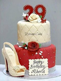 Tortas de cumpleaños para mujer - 29 años