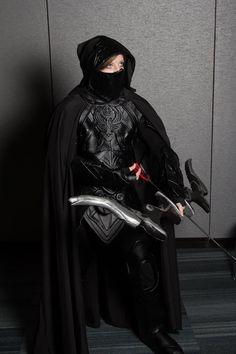 Skyrim Nightingale Armor, Wii U, Video Games, Illustrations, Style, Swag, Videogames, Video Game, Illustration