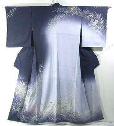Japan, Shibori Tsujigahana Design Houmongi by Yoshino Hitokado