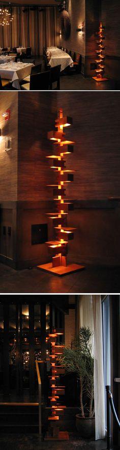 Yamagiwa: Frank Lloyd Wright Taliesin - 2 floor lamp  USD 2,950.00