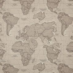 World map fabric map fabric world fabric blue fabric half yard buy john lewis world map john lewis world map teflon coated tablecloth fabric mocha online gumiabroncs Image collections