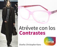 Atrévete con los contrastes y combínate tu estilo con gafas de moda en Ópticas Florida #opticasflorida #Mallorca #gafas #NatureColor #moda