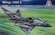 Italeri 023 Mirage 2000 D