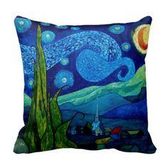 Star Lit Night Pillow #zazzle #pillows
