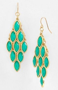 Tasha Stone Chandelier Earrings
