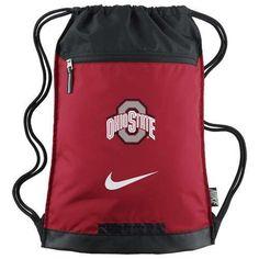 Nike Ohio State University Buckeyes Gym Sack String Bag Backpack Bz9667-601   89279052bdb15