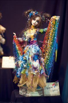 Rainbow OOAK Doll