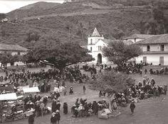 Día de mercado, años 1930, Colombia.