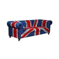 Union Jack Sofa? Oh yes please