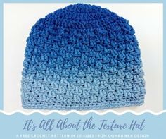 Its All About the Texture Hat Free Pattern