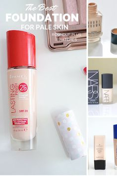 As a fair-skinned redhead, I've spent my entire adult life trying to find the best foundation for pale skin: this posts lists all the ones I've tried, with my thoughts on how well they work for pale-skinned people!