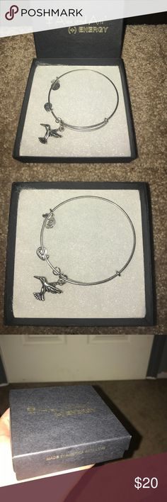 Hummingbird Alex and Ani BRAND NEW WITH BOX!!! Alex & Ani Jewelry Bracelets