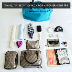Think it's impossible to pack everything in one bag?  Think again.