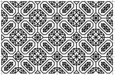 Imaginesque: Blackwork Fill Pattern