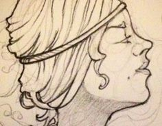 """Check out new work on my @Behance portfolio: """"profile sketch"""" http://be.net/gallery/36324119/profile-sketch"""