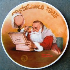 Check out Norman Rockwell Grandpa Plays Santa Knowles Christmas Plate First Edition 1985  http://www.ebay.com/itm/Norman-Rockwell-Grandpa-Plays-Santa-Knowles-Christmas-Plate-First-Edition-1985-/161165741990?roken=cUgayN&soutkn=uu6PNK via @eBay