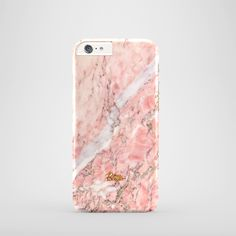 """""""Blush"""" / feature with Glamour Pink marble stone printed iPhone cover. #pink #marble #case"""