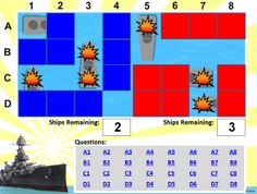 """Create your own """"Battleship"""" style review games with this PowerPoint template! Classroom Games High School, School Games, Future Classroom, Classroom Ideas, Powerpoint Game Templates, Powerpoint Lesson, Teaching Social Studies, Teaching Tools, Teaching Ideas"""