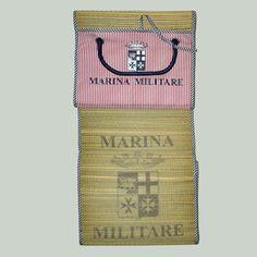 www.marinamilitare-sportswear.com Stuoino Marina Militare Sportsewar #accessories #ss2014 #beach #summer #repin