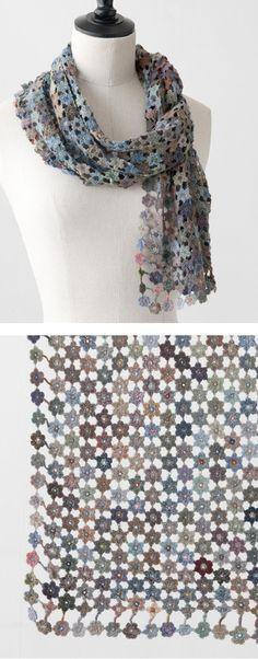 *Sophie Digard 2013AW  VIRGUNIA MERINO WOOL SCARF   ♪ ♪ ... #inspiration_diy GB http://www.pinterest.com/gigibrazil/boards/