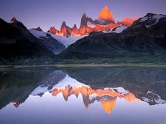 awesome memories of hiking to Fitzroy in Patagonia