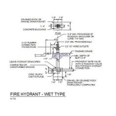 Pressure relief valve cad drawing mechanical cad blocks mechanical fire hydrant detail ccuart Images