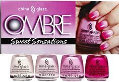 china Glaze OMBRE Sweet Sensations 2013 Collection by China Glaze,