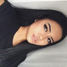 Girls // Make up // Pretty Makeup, Love Makeup, Makeup Art, Makeup Tips, Beauty Makeup, Makeup Looks, Hair Beauty, Perfect Makeup, Makeup Style