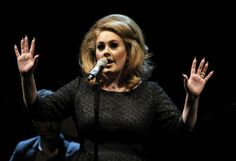 Photo Tom Wallace @StarTribune    Adele performs at the Xcel Energy Center in St. Paul, Minnesota Aug. 24, 2011