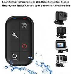 COOSA WiFi Waterproof Smart Remote Control with Charing Cable and Wrist Strap for Gopro Hero Leica Camera, Nikon Dslr, Camera Gear, Film Camera, Gopro Accessories, Photo Accessories, Gopro Remote, Gopro Video, Gopro Photography