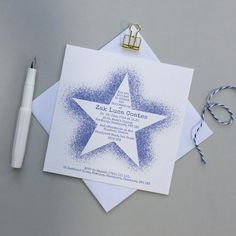 These unique and stylish custom christening invitations can be personalised with the text of your choice and other colours may be available upon