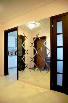 The best modern design of the cabinets in the hall Check … – # in rnrnSource by nadesophia Home Room Design, Home Interior Design, Living Room Designs, Interior Decorating, House Design, Mirror Decor Living Room, Room Partition Designs, Entrance Decor, Design Moderne