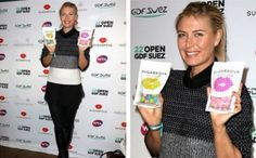 Maria Sharapova - Sugarpova event in Paris http://www.womenstennisblog.com/2014/01/28/sugarpova-sponsors-open-gdf-suez/