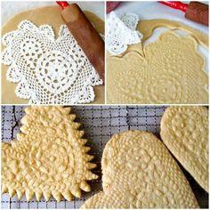Lace bread