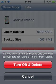 How to manually manage what gets backed up to iCloud.