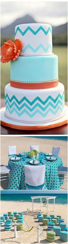 Fun patterns are one of the top 20 wedding trends for 2013. Follow our blog for the latest trends in patterns http://wp.me/p2FlTv-C6. Thank you Hard Rock Hotel Punta Cana for the amazing photos